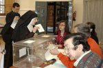 Ya basta de monjas votando