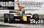 Sorteo entradas para las World Series de Renault del 24 y 25 de Octubre