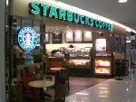 Entré en Starbucks