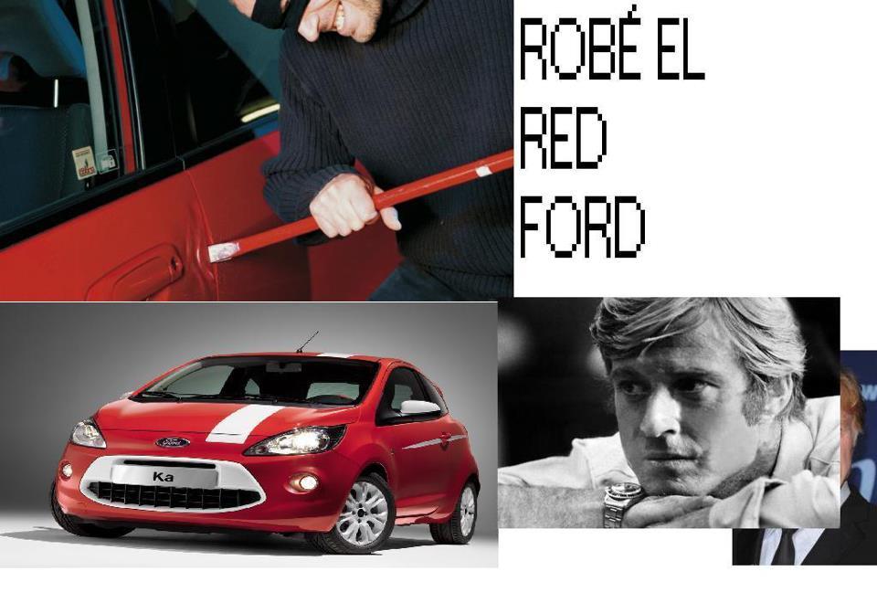 robé el red ford