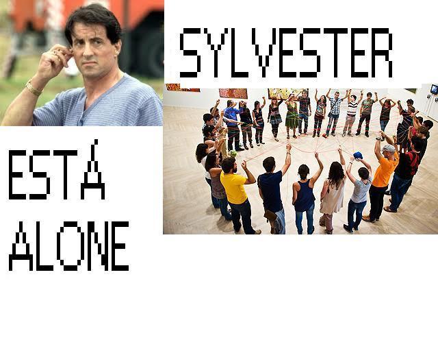 sylverster está alone